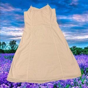 Old Navy White Cotton Sundress S: L